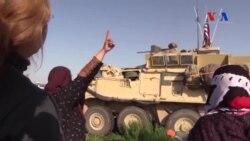 Türkiye Sınırında Devriye Gezen ABD Askerlerine Alkış