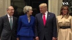 Trump ve May Başbakanlık Konutunda Görüştü