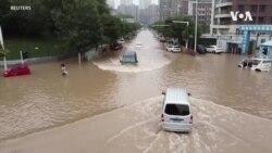 河南汛情向北蔓延,幾十萬人被緊急疏散轉移