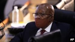 Jacob Zuma wahoze ayobora Afurika y'Epfo
