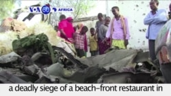 VOA60 Africa - Somali Forces End Deadly Restaurant Siege