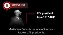 America's Presidents - Martin Van Buren