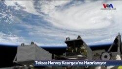Teksas Harvey Kasırgası'na Hazırlanıyor