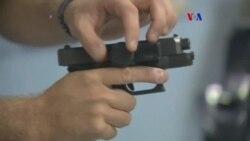 Seguro electrónico para armas de fuego