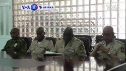 VOA60 AFIRKA: Shugaban Kasar Guinea Bissau Jose Mario Vaz Ya Tarbi Shugabannin Sojan Kasashen Kungiyar ECOWAS A Fadarsa