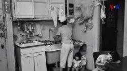 Ağ-qara fotolar 1980-ci illərdə immiqrant həyatına işıq salır