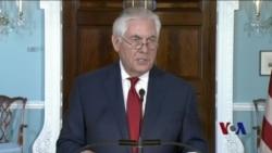 川普暗示其智商高于国务卿蒂勒森
