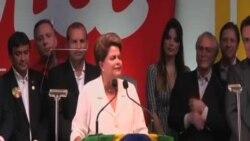 巴西總統羅塞夫當選連任