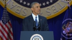President Barack Obama says because of you America is a stronger and better place