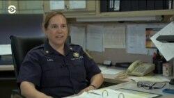 Первая женщина – капитан пожарной части