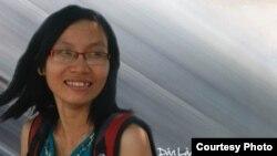 Nhà văn Nhã Thuyên (tên thật Đỗ Thị Thoan) - Ảnh: Danlambao