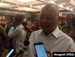 Wali Kota Medan, Dzulmi Eldin. (Foto: VOA/Anugrah Andriansyah)