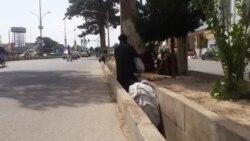 بود و باش معتادان در جاده های شهر هرات