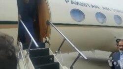 عمران خان کی تہران آمد پر استقبال