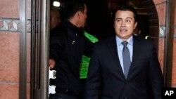 Antonio 'Tony' Hernández, hermano del presidente dde Honduras, Juan Orlando hernández, acusado por narcotráfico en un juzgado de Nueva York. AP.