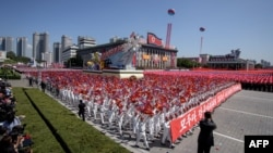 北韓在9月9日慶祝建國70週年閱兵。