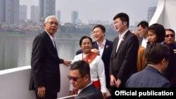 သမၼတဦးထင္ေက်ာ္ရဲ႕ တရုတ္ႏုိင္ငံ ခရီးစဥ္(Ministry of Foreign Affairs Myanmar)