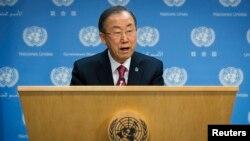聯合國秘書長潘基文(資料照片)