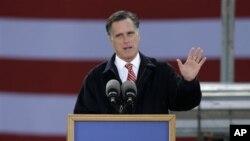 """Ông Romney gọi phúc trình này """"là đợt mới nhất về những tin tức kinh tế đáng thất vọng."""""""