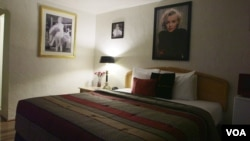 The Marilyn Monroe room