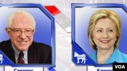 'Yan Democrats Sanders da Hillary Clintton