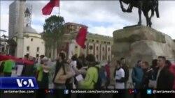 Protestë në Tiranë në mbrojtje të lumit Valbona