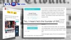 Trump nói chỉ mỉa mai khi nói TT Obama là 'Người sáng lập của ISIS' (VOA60)