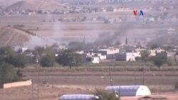 Kurdos en Kobani