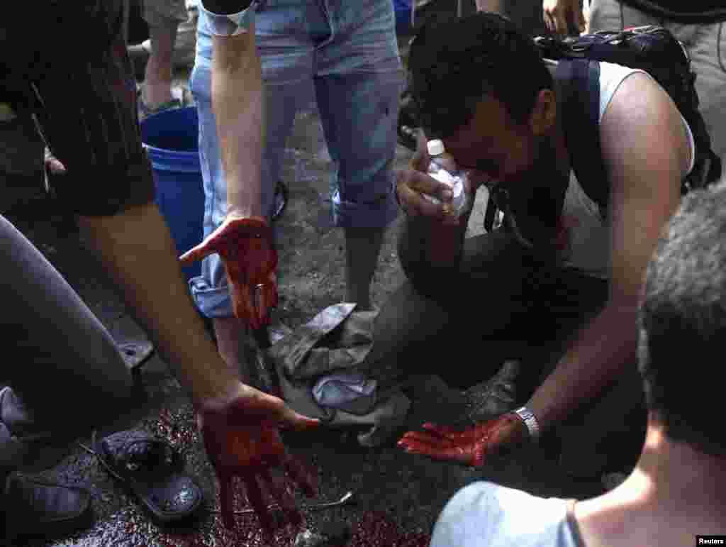 """""""Мусульманське братство"""" заявляє про понад 50 вбитих."""