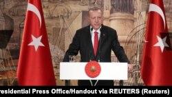 Prezidaantii Turkii Recep Tayyip Erdogan