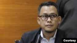 Plt Juru bicara Komisi Pemberantasan Korupsi (KPK) bidang Penindakan, Ali Fikri. (Foto: KPK)
