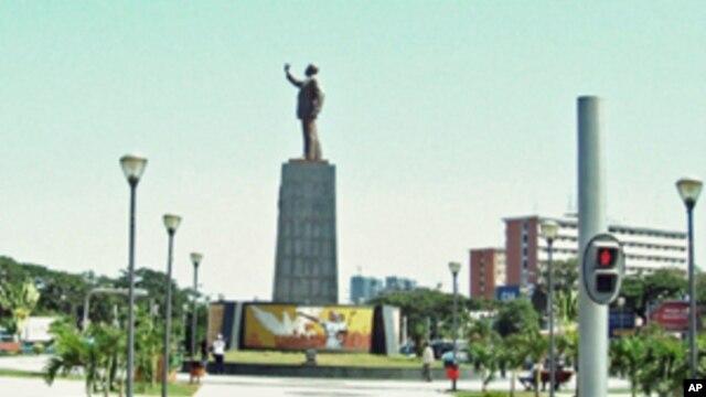 Praça da Independência, em Luanda