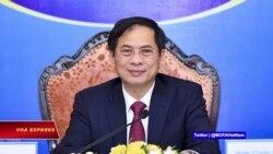 Việt Nam kêu gọi 'chuyển giao sản xuất vaccine' và 'Biển Đông' tại ASEAN