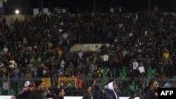 Bạo động sau trận bóng đá giữa Al-Ahly và Al-Masry tại Port Said, ngày 1 tháng 2, 2012