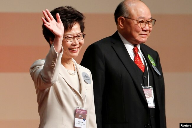 Image result for carrie lam husband