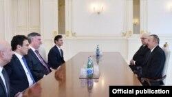 İlham Əliyev və Kevin Makalister