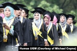 Wisuda sarjana di Universitas Gadjah Mada, Yogyakarta. (Foto: Humas UGM)
