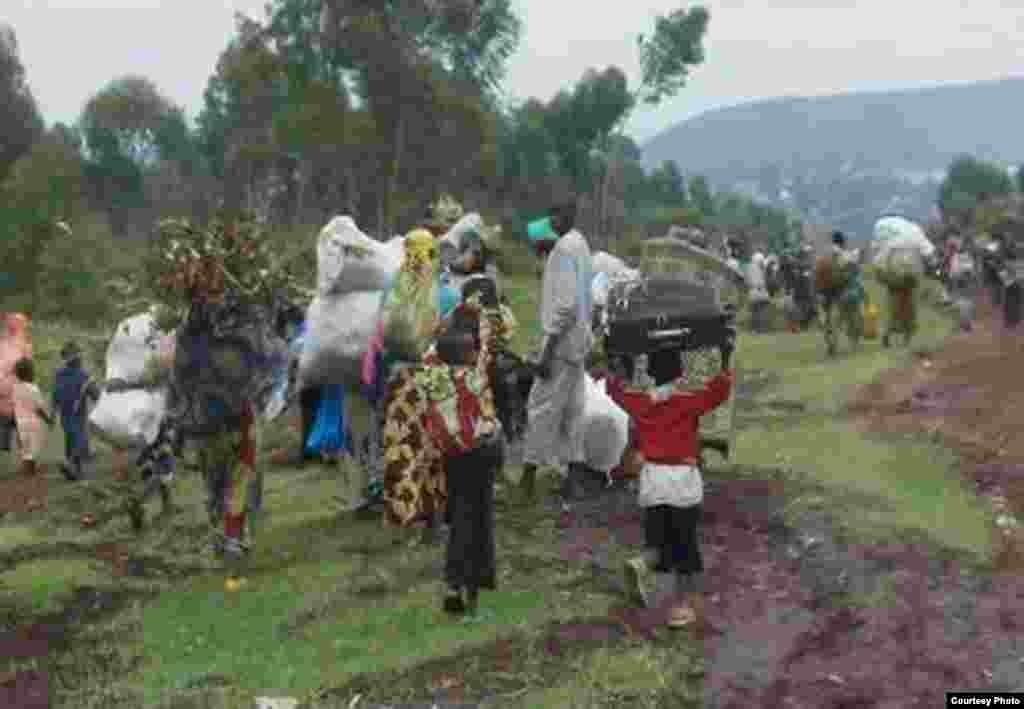 Wakazi wa Goma wakimbia baada ya mji wao kutekwa na wapiganaji wa M23