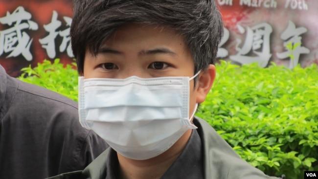 台湾在野党社民党台北市议员苗博雅