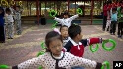 中國14歲下兒童人口過去10年來下降了6.3%