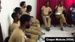 Activistas angolanos detidos