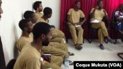 Activistas angolanos
