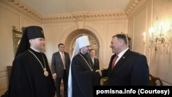 Pompeo meets with Epifaniy