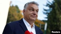 Mađarski premijer Viktor Orban (arhivski snimak). Grupe za ljudska prava strahuju da će nova ovlašćenja za vladu dovesti do gušenja rada nezavisnih novinara.