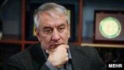 علی کفاشیان رئیس فدراسیون فوتبال ایران