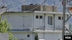 Tempat persembunyian Osama bin Laden di Abbottabad, Pakistan. Menurut Menhan AS, tak ada bukti bahwa pihak Pakistan telah mengetahui keberadaan Osama.
