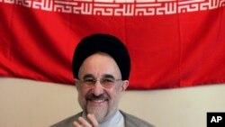 Cựu Tổng thống Iran Mohammad Khatami.