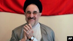 Former Iranian President Mohammad Khatami. (Undated photo)