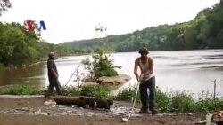 Warga Indonesia Ngabuburit Mancing di Potomac River