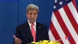2016-06-06 美國之音視頻新聞: 克里敦促中國以外交途徑解決南中國海爭端